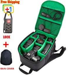 Wholesale Waterproof and multi functional DSLR Lowepro Digital Camera Backpack E HCS SPR Camera bag Honorable Brand for Photographer