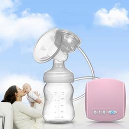 Wholesale New arrival Electric USB breast pump Postpartum Breast feeding breast pumps Breast milk suckers breast pump