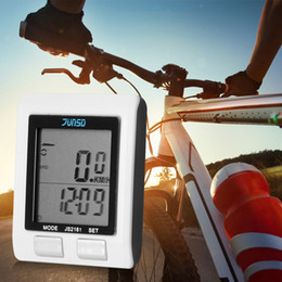 Wholesale Waterproof Multifunction Noctilucent Wireless Bike Bicycle Cycling Compute LCD Display Cycling Computer Bike Wheel Odometer Bicycle Speed