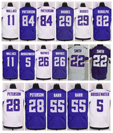 Wholesale 2016 New Jerseys Stefon Diggs Teddy Bridgewater Adrian Peterson Sam Bradford Anthony Barr Harrison Smith Mix Order