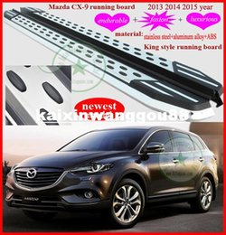 Wholesale 2013 Mazda CX running board side step bar newest stainless steel aluminum alloy