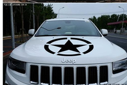 Wholesale Brothers car stickers Automobile engine cover engine cover Cross country jeep after glass garland to turn b2081