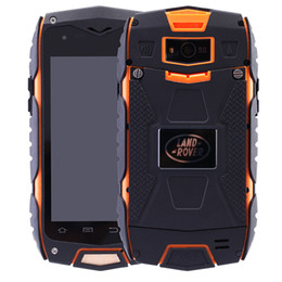 Wholesale original Guophone V11 Outdoor waterproof shockproof rugged Smartphone Android MTK6582 Quad Core Compass mobile phone