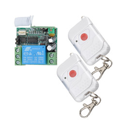 Wholesale DC12V Remote Control Switch System Momentary Press ON Release OFF Door Access Learning Transmitter Momentary Toggle Adjusted