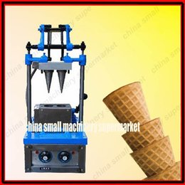 Wholesale Commercial manual double head ice cream cone machinery manufacturer Cone Ice Cream Shaper_Ice Cream Cone making Machine