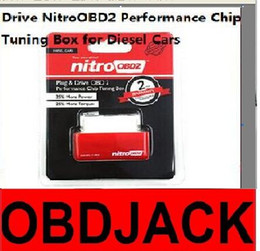 Plug and Drive NitroOBD2 Performance Chip Tuning Box for Diesel Cars with 2 Year Warranty Free Shipping