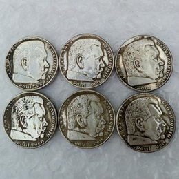 Wholesale Germany MARK A set of A D E F G J Silver Coin Deutsches Reich Copy Coin