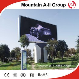 Wholesale Shenzhen Mountain A Li Group outdoor full color P10 LED display screen advertising billboard led display sign LED video wall