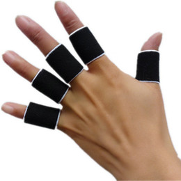 Wholesale Stretchy Finger Sleeve Support Wrap Arthritis Guard Volleyball Sports New