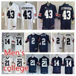 Wholesale Auburn Tigers Michael Dyer Nick Marshall Tre Mason nick fairley Philip Lutzenkirchen NCAA College Jerseys