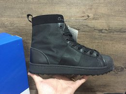 Wholesale 2016 new top quality casual leather boots for men Ultra fashion outdoor JUNGLE super star trainer sneakers Season mens boots size