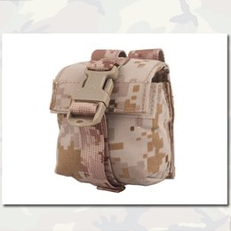 Wholesale Molle military airsoft painball combat gear Emerson LBT Style Single Frag Grenade Pouch EM6369