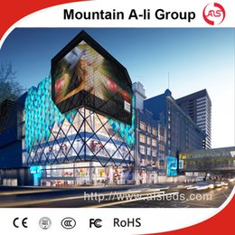 Wholesale Shenzhen Mountain A Li Group P8 DIP outdoor full color LED display screen advertising billboard led display sign LED video wall