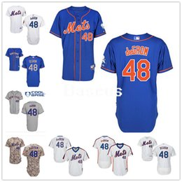 Wholesale Majestic - New York Mets #48 Jacob Degrom Blue Camo Grey White Pinstripe Pull Down Cheap Majestic Ny Mlb Baseball Jerseys From China Top Quality