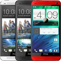 Wholesale HTC ONE M7 Original Unlocked Smartphone GPS WIFI TouchScreen GB Memory G Android Quad Core Refurbished