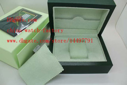 Wholesale Factory Supplier Green Brand Original Box Papers Gift Watches Boxes Leather bag Card mm mm mm KG For Watch