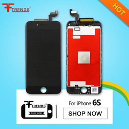 for iPhone 6S LCD Display with Touch Screen Digitizer with Frame Complete Full Assembly Black White Replacement Parts