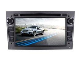 Consola gris en Línea-7 '' Quad Core Android 5.1.1 DVD estéreo de coche para Opel Antara / Meriva / Corsa / Astra 2004-2009 / Zafira 2005-2010 / Vectra 2005-2008 Con GPS