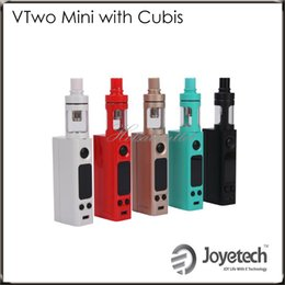 Wholesale Joyetech eVic VTwo Mini Kit Variable Modes Firmware Upgradeable with RTC Real Time Clock display eVic VTwo Mini Mode Original