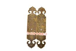 Wholesale accessories antique copper copper bonus classic carved handle screen door door sliding door closet handle