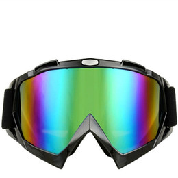 Wholesale Motorcycle Accessories Snowboard Ski Men Outdoor Gafas Casco Moto Motocross Goggles Glasses Windproof Color Goggle For Helmet