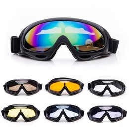 Fashion Skiing Eyewear Ski Glass Goggles 6 Colors Available Snowboard Goggles Men Women Snow Ski Goggles Glasses Military glasses