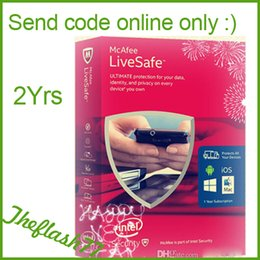 Wholesale Code key McAfee LiveSafe Antivirus internet security Unlimited Devices PC Mac Android iOS Years Protection Serial Number theflash77
