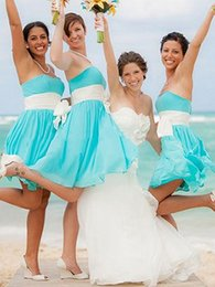 2016 New Sweetheart Strapless Bridesmaid Dresses Bridesmaid simple fashion multicolor skirt bride married bridesmaid Dress plus size