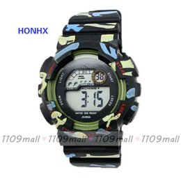 Wholesale 100 HONHX A silicone Digital watch colors good quality and good service