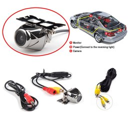 Wholesale 2016 Special Offer Limited Car Camera A Brand new Wire Waterproof Car Rear View Reverse Backup Parking Camera Cmos Guide Line Alloy Kit