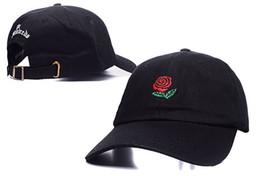 Wholesale 2016 popular rare the pop cap Brand Hundreds Rose Strap Back Cap men women Adjustable panel golf polos snapback baseball hats