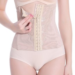 Wholesale Hot Sale Waist Cincher Female Shapewear Slimming Corset Abdominal Control Band Body Shaper Sexy Bustier Korsett for Women RC0008