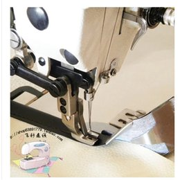 Wholesale Industrial sewing machine parts flatcar simultaneous car webbing leather edging pull cylinder device to help sew a leading MM