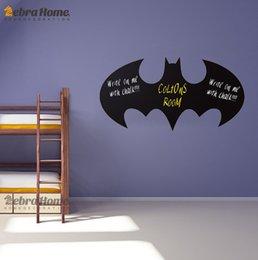 Wholesale Batman Chalkboard Quote Sign Decal Wall Sticker Returns Blackboard Modern Art Decal Mural Wallpaper For Home Decoration