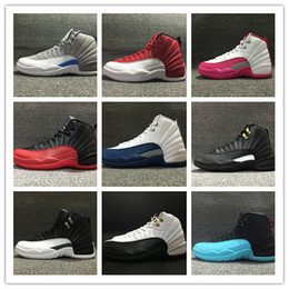 Wholesale Air RETRO s flu game Men women Basketball Shoes gym red sports sneakers low boots good quality cheap size