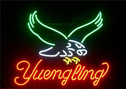 Wholesale Brand New Yuengling Eagle Neon Sign Real Glass Neon Sign Beer light X16 quot quot X24 quot