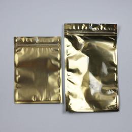 Golden Clear Poly Bolsas de aluminio Aluminio de plata con cremallera Válvula de cierre hermético Paquete al por menor de plástico Paquete de bolsa Bolsa de cierre postal Bolsa de 5000 piezas desde bolsas de embalaje reutilizables proveedores