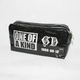 Wholesale New kpop bigbang group GD one of a kind makeup bag cosmetic bag pen bag