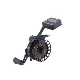 Wholesale Full aluminum raft fishing reel w digital line counter BB left and right hand retrieve raft reel