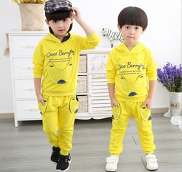 2016 small Tong Chunqiu models cotton baby suit autumn suit new cartoon Winnie the pocket children's clothing burst models