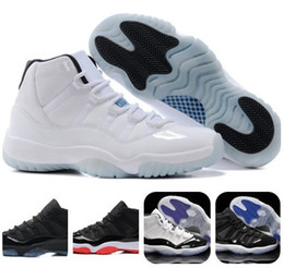 Wholesale Legend Blue Basketball Shoes XI Good Quality Men Sports Shoes Women mens Trainers Athletics Boots Retro XI Sneakers Cheap