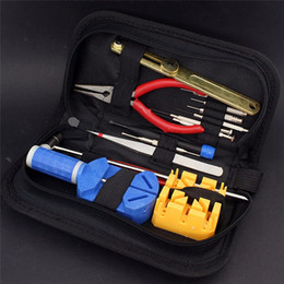 Wholesale Sanwony New Arrival Watch Repair Tool Kit Opener Link Remover Spring Bar Band Pin Carrying Case For Watch