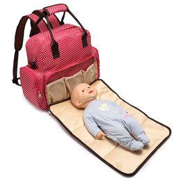 Baby Pad Mummy Baby Diaper Bag Waterproof Nappy Changing Backpack Bag Tote Handbag