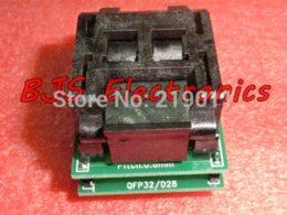 Wholesale Universal IC Adapter Socket LQFP TQFP QFP to DIP TQFP32 QFP32 to DIP28 IC Adapters for ATMEL AVR Chips
