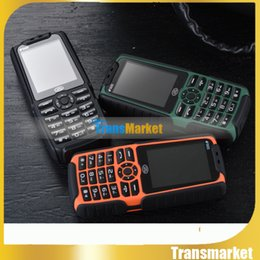 Wholesale X6 XP3300 Rugged Phone With Strong Flashlight Shockproof Dual SIM GSM Mah Battery Loud Speaker Power Bank Phone bankpower hot sale