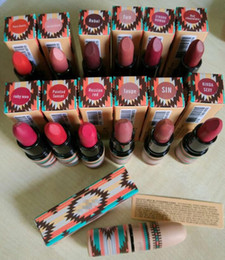 Wholesale 2016 New arrival Hot Tribe serial lipstick waterproof makeup matte lip stick colors choose supply