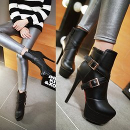 The European sexy short boots Ladies fashion short boots Autumn and winter ladies favorite boots Quality assurance Exempt postage