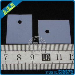 100Pair lot Insulation Bushing Silicon Rubber Pad For TO-247 Package Heat Sink + Insulating cap