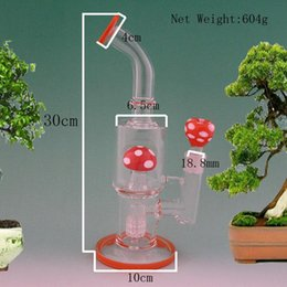 Wholesale Glass Water Pipes Bongs With One strawberry Percolator mm Joint Size Factoty Direct Sales Water Pipes