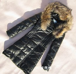 Wholesale Leather With Fur Collar Hooded Ladies Leather Jacket Sheepskin Coat Women Winter Down Coat Women Leather Jacket Black